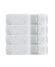 Enchante Home Unique 4-Pc. Turkish Cotton Bath Towel Set