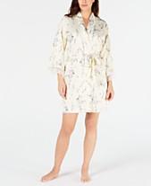Linea Donatella Short Sherelle Floral Wrap Robe 4860d9538