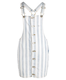 GUESS Big Girls Striped Denim Skirtall