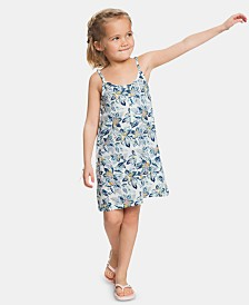 Roxy Little & Big Girls Floral-Print Dress