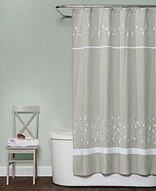 Saturday Knight Ltd. Kent Fabric Shower Curtain