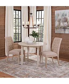 Cutler Drop Leaf Round Dining Furniture Collection