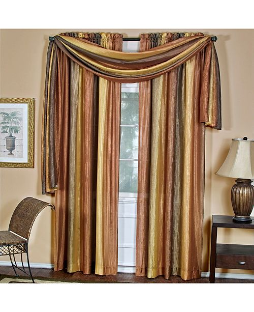 Achim Ombre Window Curtain Panel, 50x84