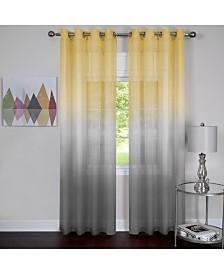 Rainbow Single Grommet Window Curtain Panel, 52x63