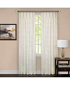 Windsor Pinch Pleat Window Curtain Panel, 34x84