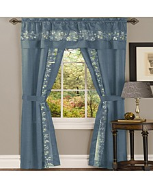 Fairfield 5 Piece Window Curtain Set, 55x84