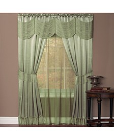 Halley 6 Piece Window Curtain Set, 56x84