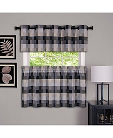 Harvard Window Curtain Tier Pair, 57x36