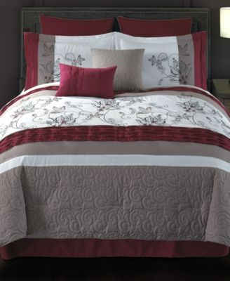 Ellie 8 Pc Queen Comforter Set