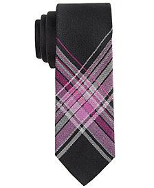 DKNY Big Boys Plaid Tie