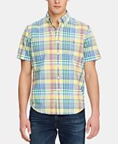 a47ab95fe3fc8 Polo Ralph Lauren Men s Classic-Fit Plaid Oxford Shirt