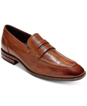 1940s Men's Shoes & Boots | Gangster, Spectator, Black and White Shoes Cole Haan Mens Warner Grand Penny Loafers Mens Shoes $101.99 AT vintagedancer.com