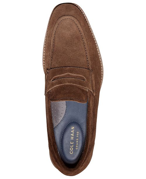 e5cecd926fb Cole Haan Men s Warner Grand Penny Loafers   Reviews - All Men s ...
