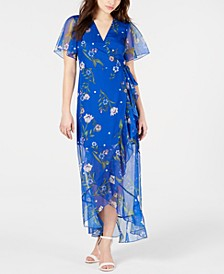 Junia Floral-Print Wrap Dress