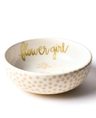 by Laura Johnson Floral Flower girl  Dipping Bowl