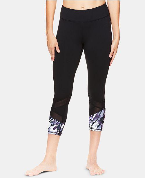 4a3dd747012 Gaiam Om Align Printed Capri Leggings   Reviews - Pants   Capris ...