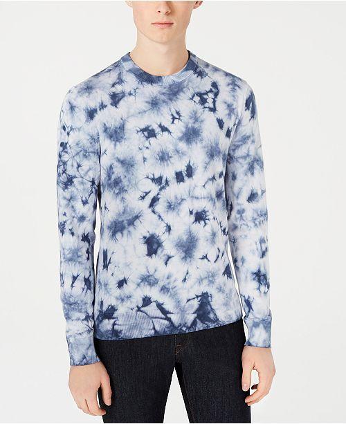 Michael Kors Men's Tie-Dyed Sweater