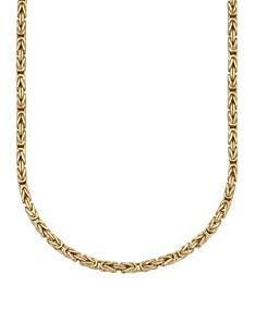 454dc748e09cc 18k Gold Chain - Macy's