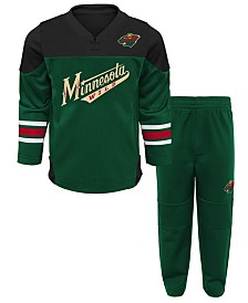 Outerstuff Minnesota Wild Playmaker Pant Set, Infants (12-24 months)