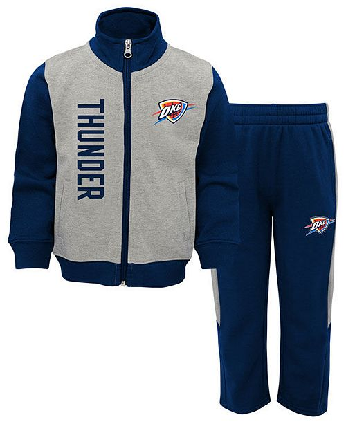 Outerstuff Oklahoma City Thunder On the Line Pant Set, Infants (12-24 months)