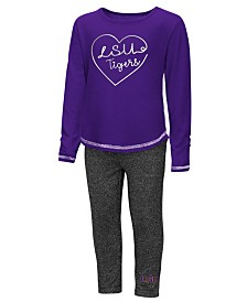 Colosseum LSU Tigers Legging Set, Toddler Girls (2T-4T)