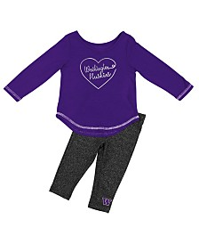 Colosseum Washington Huskies Legging Set, Infants (12 months)