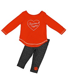 Colosseum Clemson Tigers Legging Set, Infants (12 months)