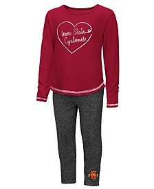 Colosseum Iowa State Cyclones Legging Set, Toddler Girls (2T-4T)