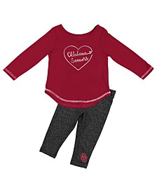 Colosseum Oklahoma Sooners Legging Set, Infants (12 months)