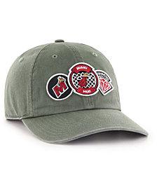 '47 Brand Miami Heat Diamond Patch CLEAN UP MF Cap