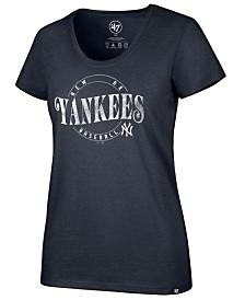 '47 Brand Women's New York Yankees Club Scoop Neck T-Shirt