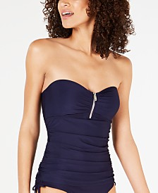 DKNY Bandeau Tankini Top, Created for Macy's