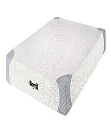 "Broyhill Sensura 8"" King Memory Foam Mattress With Cooling Gelflex Foam"