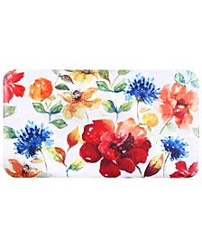 Home Dynamix David Burke Premier Flowers Cushioned Anti-Fatigue Kitchen Mat