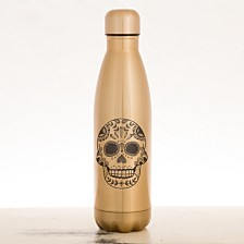 Sugar Skull Stainless Steel Water Bottle