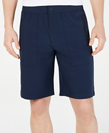 "DKNY Men's 10.5"" Refined Tech Shorts"