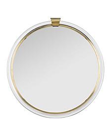 Donzel Acrylic Mirror in Brass