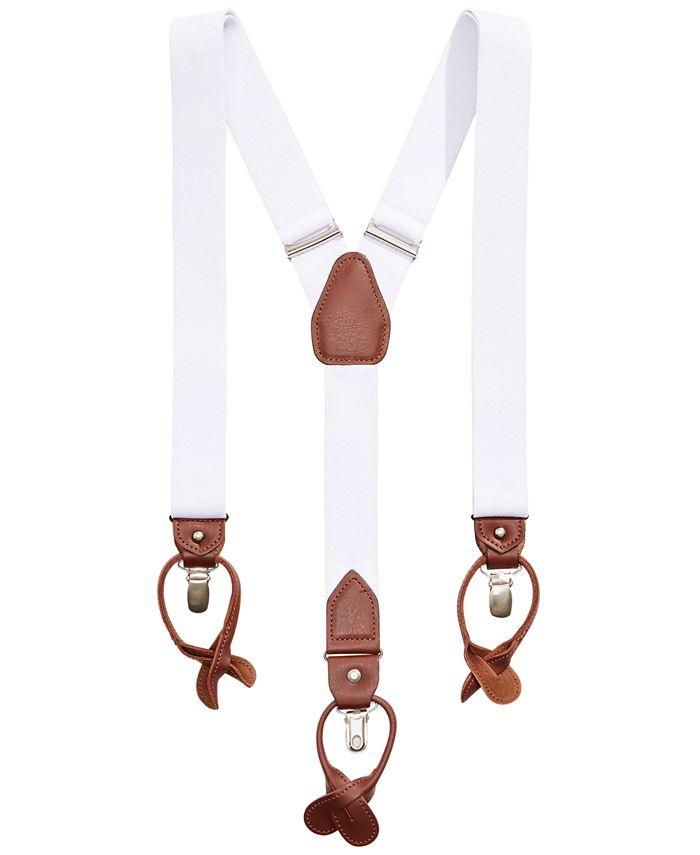 Club Room - Men's Stretch Convertible Suspenders