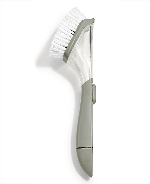 Martha Stewart Collection Soap Dispensing Dish Brush, Created for Macy's