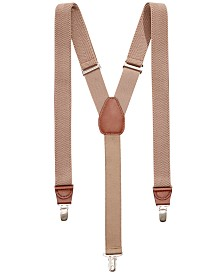 Club Room Men's Chevron Suspenders, Created for Macy's