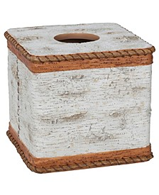 Hautman Brothers White Birch Boutique Tissue Holder