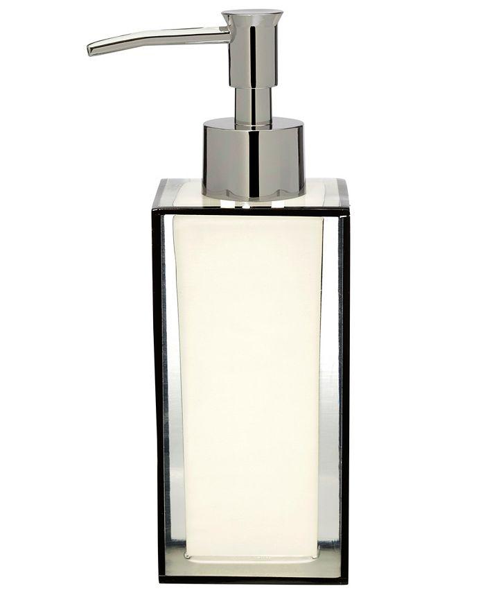 Creative Bath - White/Black Lotion pump