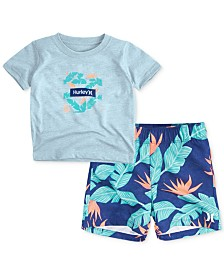 Hurley 2-Pc. Hanoi Trunks Set