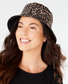 I.N.C. Reversible Bucket Hat, Created for Macy's