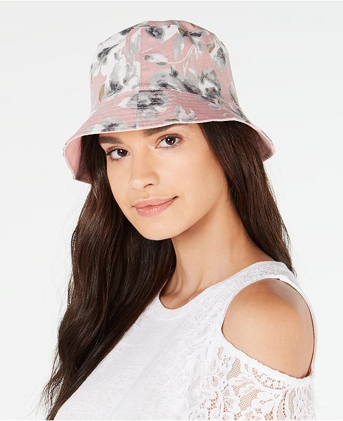 INC International Concepts I.N.C. Reversible Bucket Hat, Created for Macy's