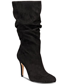 I.N.C. Women's Tahjai Scrunched Booties, Created For Macy's