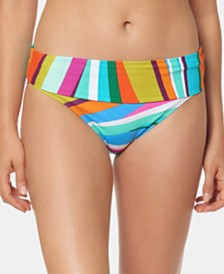Bleu by Rod Beattie Printed Hipster Bikini Bottoms