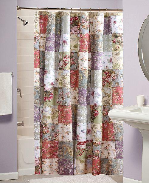 Blooming Prairie Bath Shower Curtain