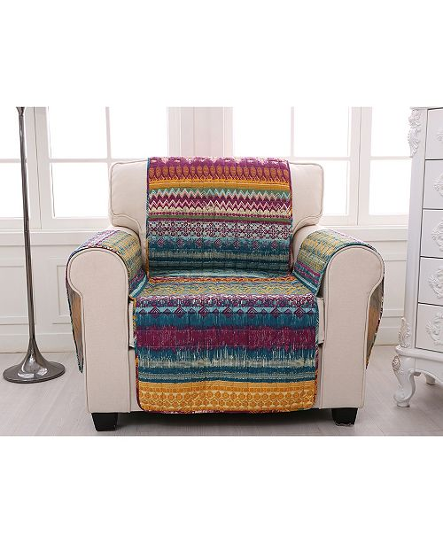 Greenland Home Fashions Southwest Furniture Protector Arm Chair