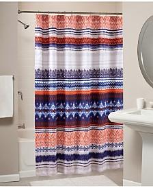 Urban Boho Bath Shower Curtain